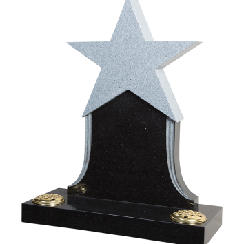 Star Headstone - ART8