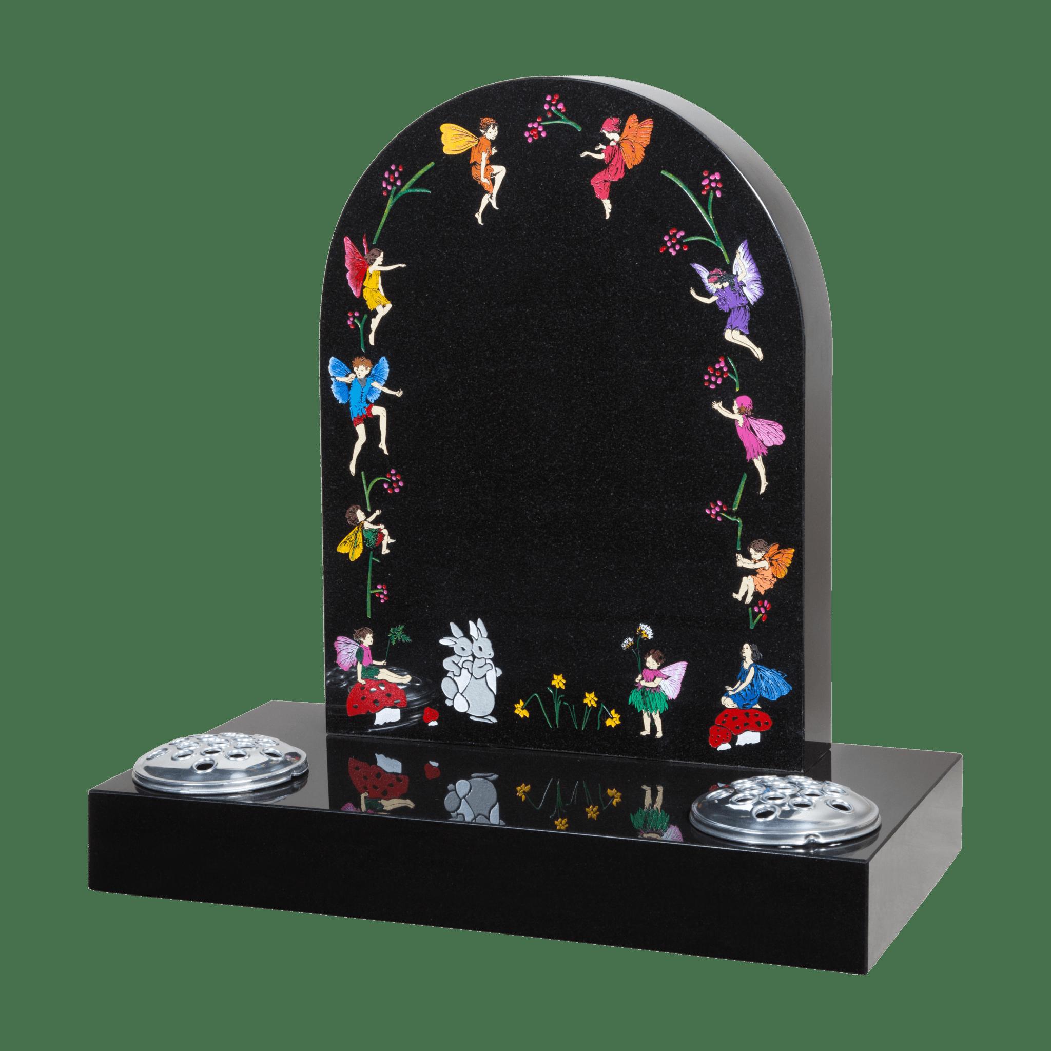 Fairies Headstone Little Angels